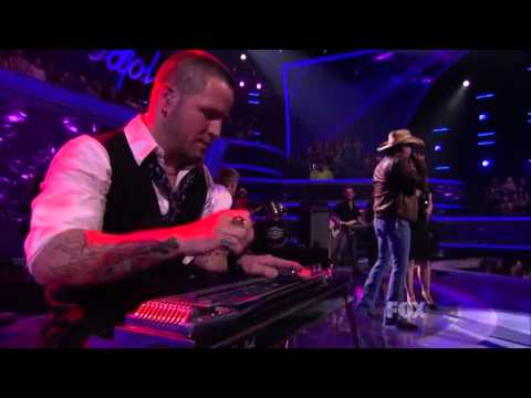 Jason Aldean featuring Kelly Clarkson- Don't You Wanna Stay - American Idol, April 2011