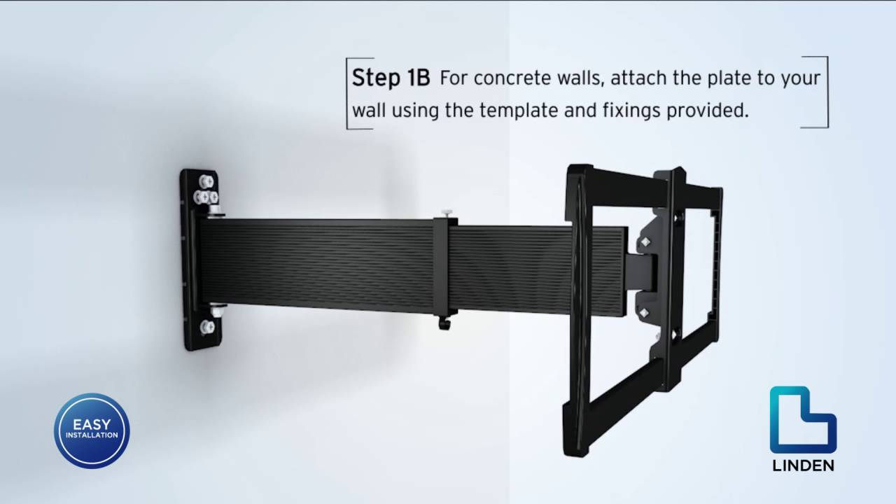 Linden TV Wall Mount Installation for Large TVs | The ...