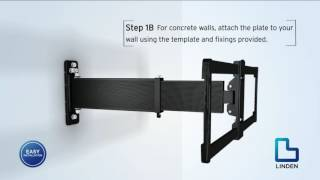 Linden TV Wall Mount Installation for Large TV's | The Good Guys