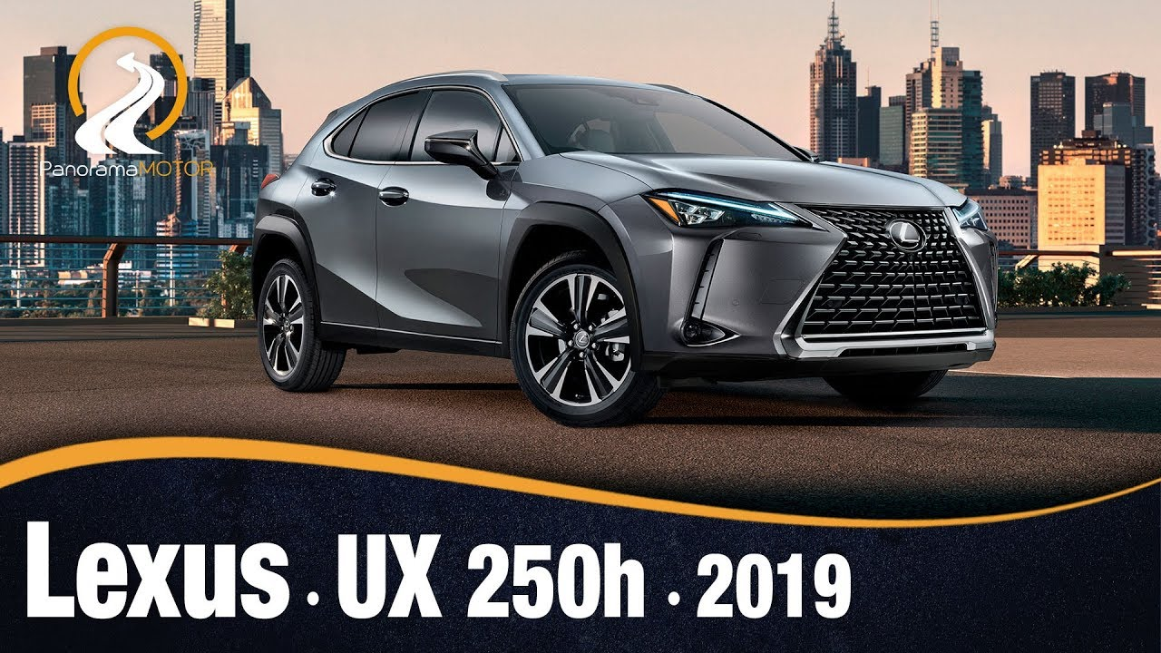 lexus ux 250h 2019 | prueba / review en español - youtube