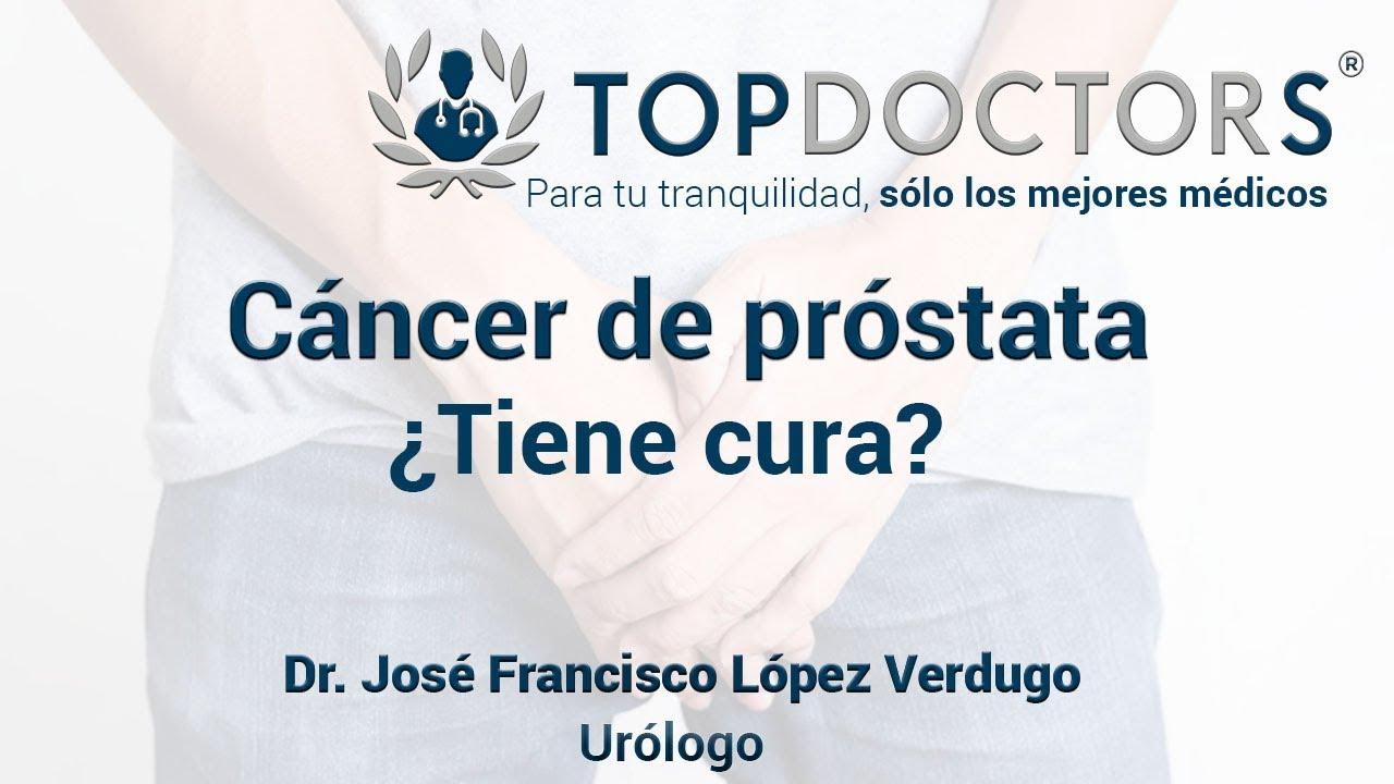 cáncer de próstata es curable