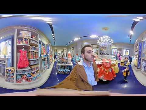 Disney Store Barcelona in 360 VR - Elecam 360 Test
