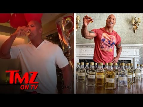 Louie Cruz - Dwayne Johnson 'The Rock Turns 47 Party's with Meat and Tequila