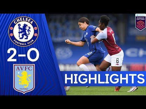 Chelsea 2-0 Aston Villa   Sam Kerr Brace Secures All Three Points   Women's Super League Highlights