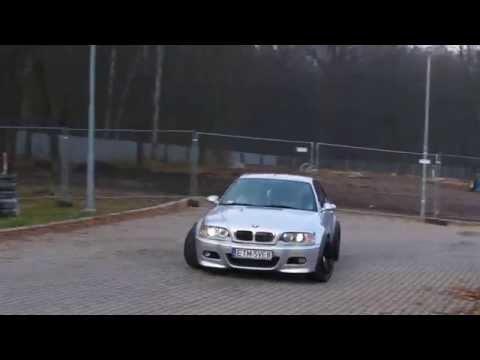 BMW M3 E46 GYMKHANA by Drift Competition Atlas Arena Łódź Poland 1080p 60fps