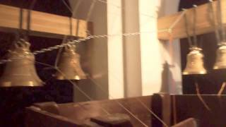 Открытие колокольни. Храм Благовещения Пресвятой Богородицы - подворье Соловецкого монастыря(Открытие колокольни Храма Благовещения Пресвятой Богородицы - подворье Соловецкого монастыря. Видео предо..., 2015-02-18T07:50:37.000Z)