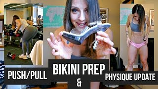 BIKINI PREP 14 part. 1 : Training push/pull I Chipolata en bikini