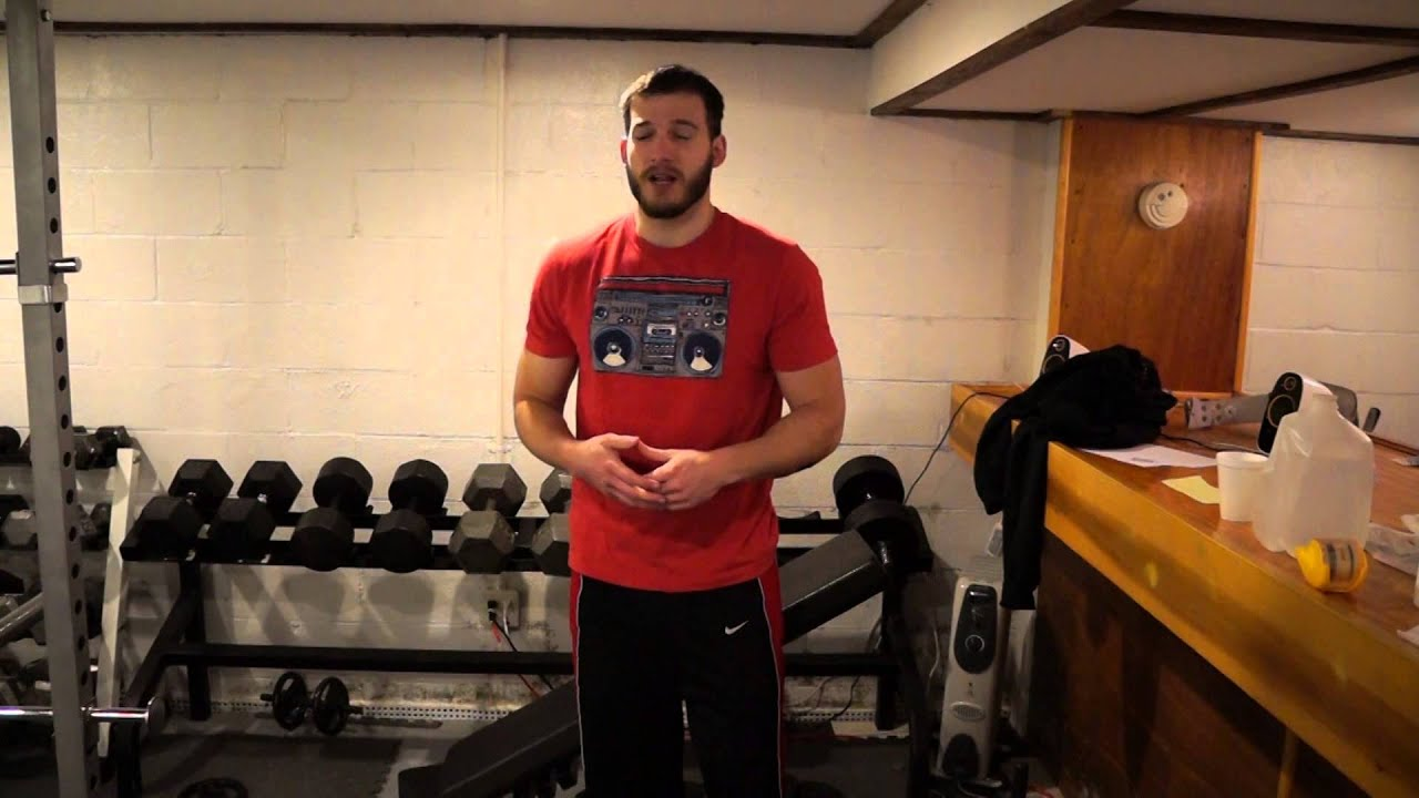 Build a cheap free weight home gym youtube
