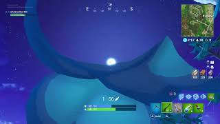 Fortnite rocket launch and sky crack