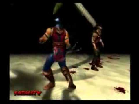 how to do a fatality on mortal kombat deception