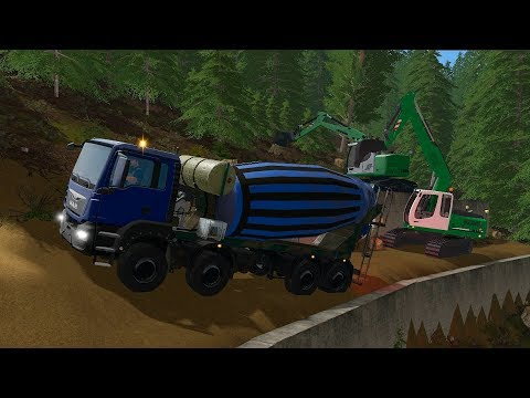 Farming Simulator 17 - Forestry and Farming on The Valley The Old Farm 019