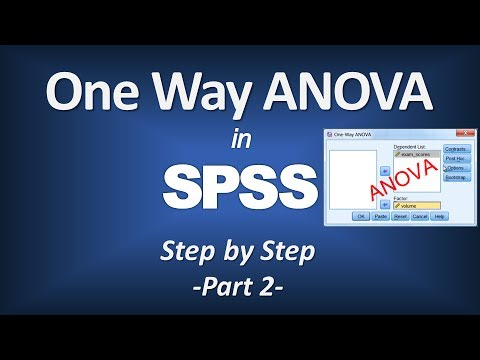 anova youtube spss