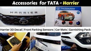 Accessories for Tata Harrier with Prices | First on YouTube | Ujjwal Saxena