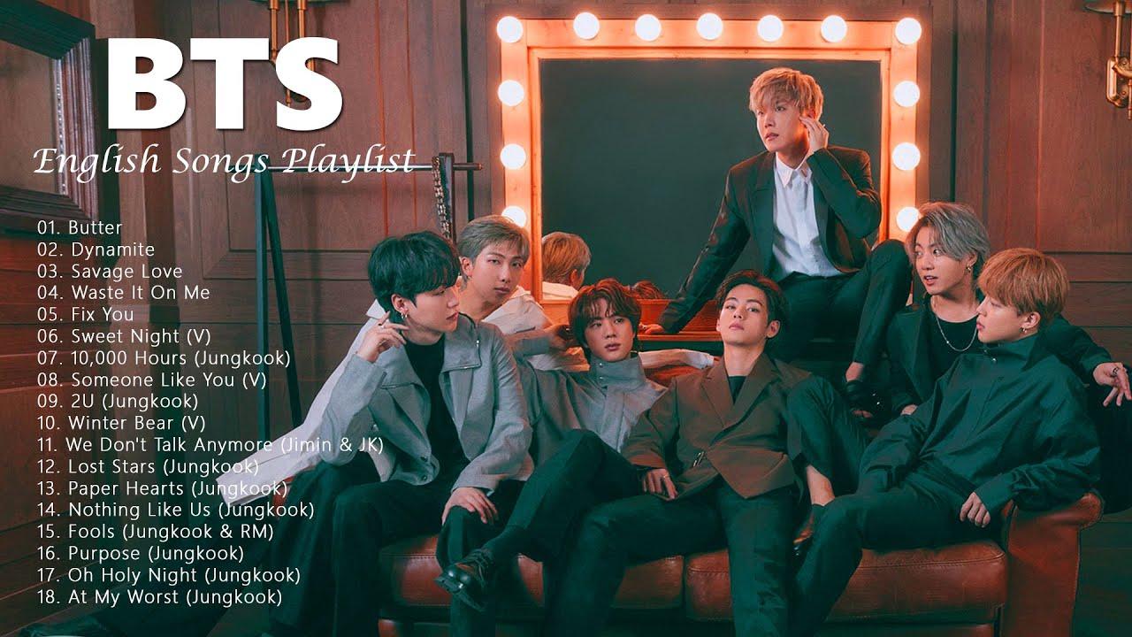 BTS English Songs Playlist 2021