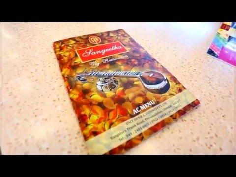 Sangeetha Veg Restaurants New unit @ T h i r u m a l z h i s a i .