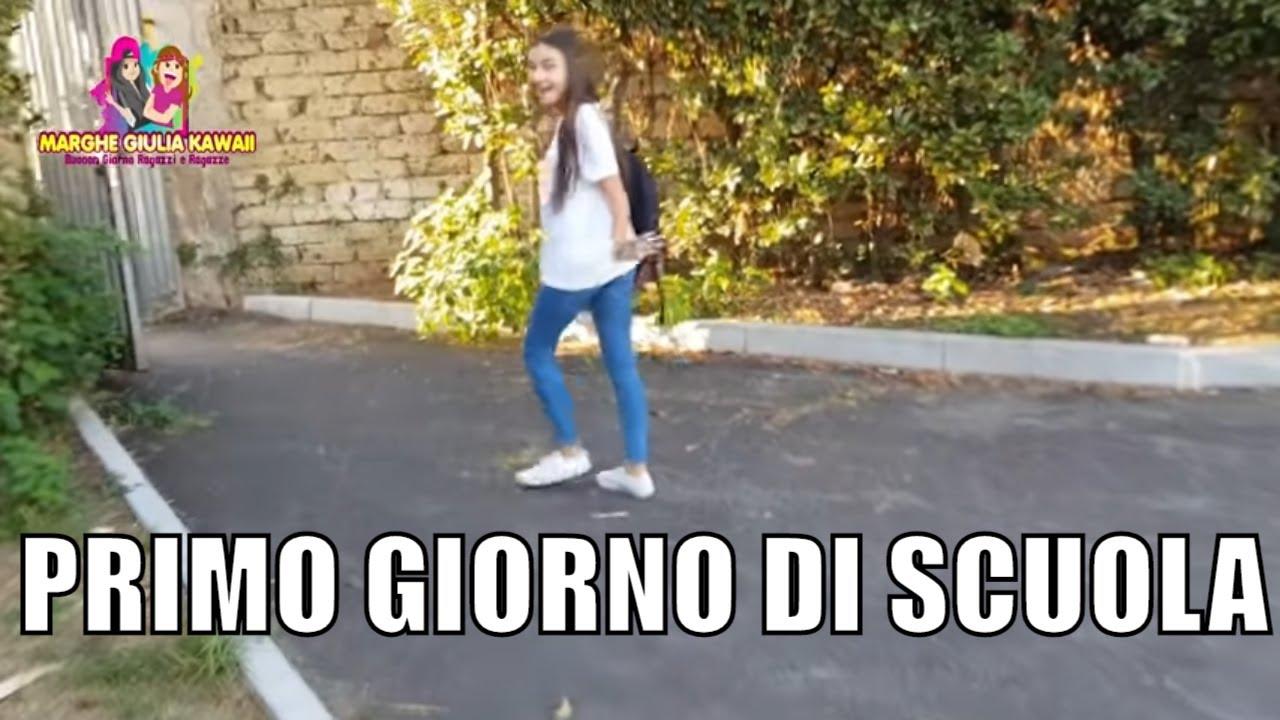 PRIMO GIORNO DI SCUOLA TERZA MEDIA - VLOG BACK TO SCHOOL 2019 ( MARGHE ) -  YouTube