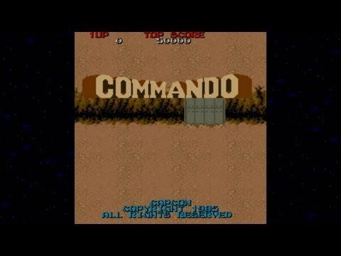 Commando 1985 Capcom Mame Retro Arcade Games