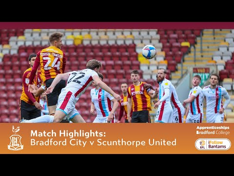 Bradford Scunthorpe Goals And Highlights