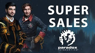 Super Sales - The Business of Video Games - The Paradox Podcast