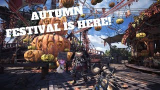 [SPOOKTOBER] AUTUMN FESTIVAL IS HERE! - Monster Hunter: World (PC) Live Stream and More!