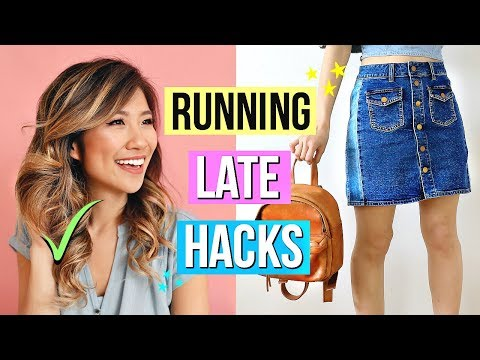 7-running-late-morning-routine-hacks-you-must-know!
