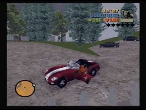 GTA3 PS2  100 hidden packages before the first mission in 5603