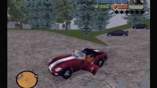 GTA3 (PS2) - 100 hidden packages before the first mission in 56:03