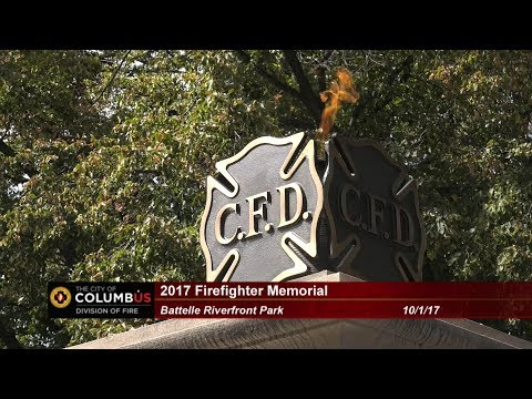 2017 Columbus Division of Fire Firefighter Memorial
