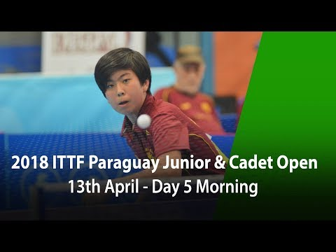2018 Paraguay Junior & Cadet Open - Day 5 Morning