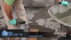 Concrete Slump Test ASTM C143