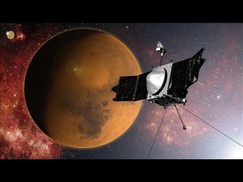 NASA's Maven Spacecraft Arrives in Mars Orbit