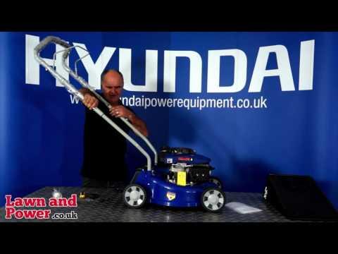 How to Assemble Hyundai HYM40P Petrol Lawn Mower