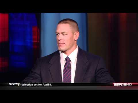 "John Cena joins ESPN2's ""First Take"""