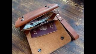 Кошелек из кожи своими руками. Leather wallet