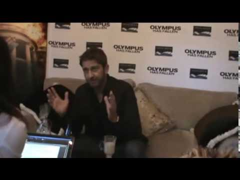 Gerard Butler exclusive video interview on OFM - The sound of your life