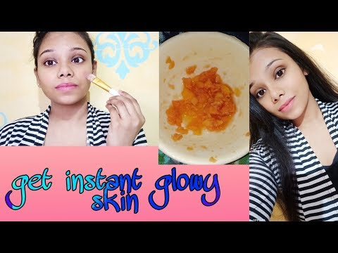 How To Achieve Clear And Glowy Skin 100% Natural|| Get Instant Glow|| Makeuploveramii