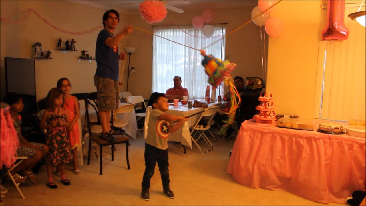 Indoor Piñata 92015 Youtube