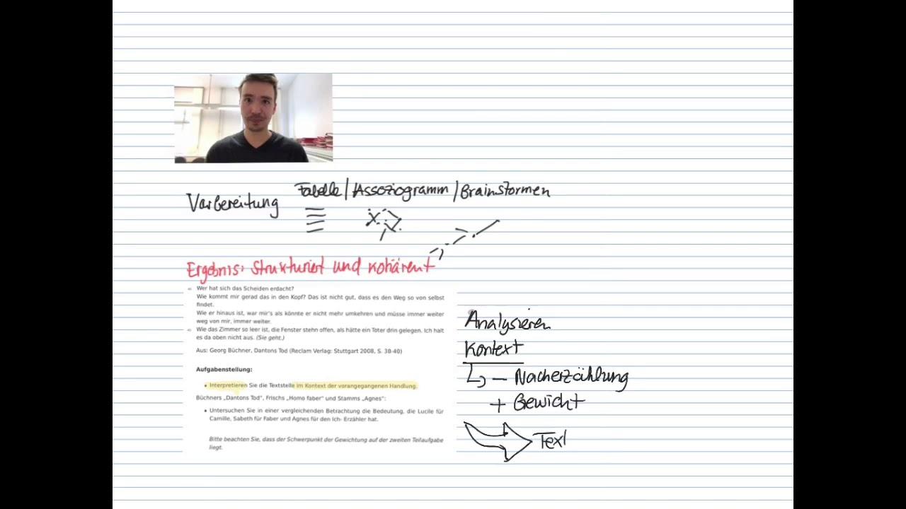 Bessere Deutschnoten Werkvergleich Deutschabitur Baden Wurttemberg Youtube
