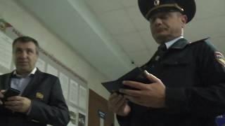 Видеосъемка в полиции. Минеральные воды.