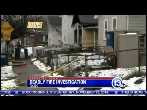 Breaking News: deadly East Toledo house fire 112214 930am