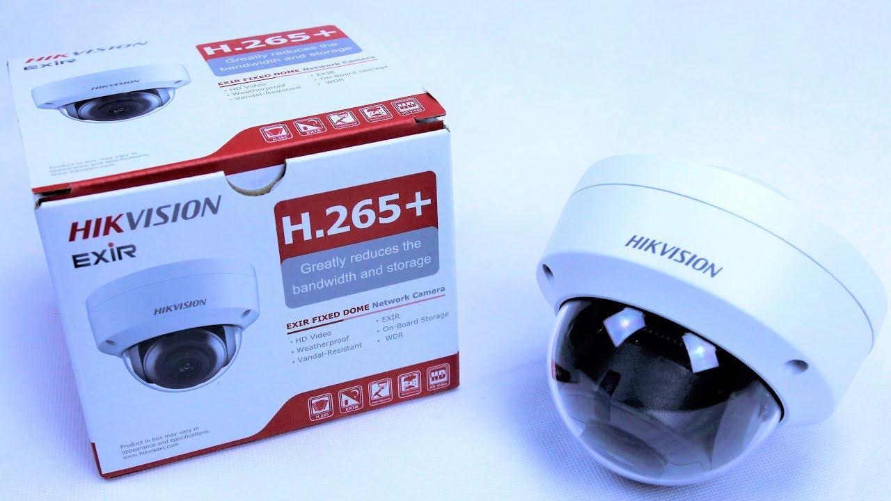 d3eb7d9bef1 HIKVISION DS-2CD2185FWD-I 4K 8MP DOME IP CAMERA UNBOXING - YouTube