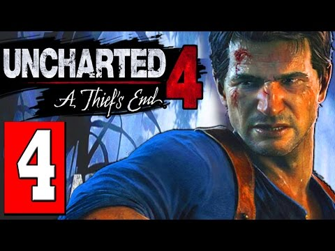 Uncharted 4: A Thiefs End Walkthrough Part 4 CHAPTER: THE GRAVE OF HENRY AVERY