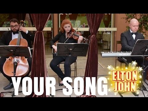 Your Song  Instrumental para Casamento PianoViolinCello