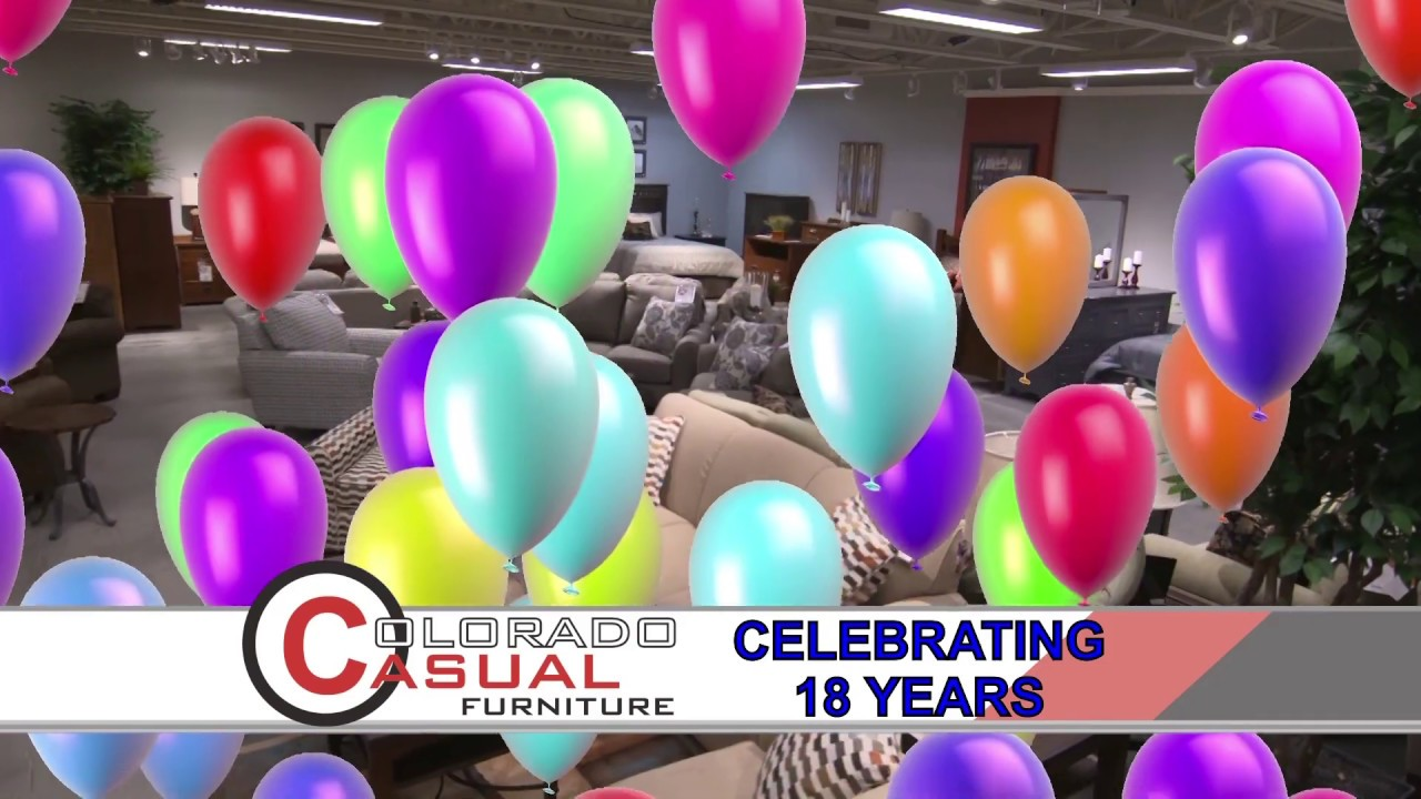 Colorado Casual Furniture 18th Birthday Sale Youtube