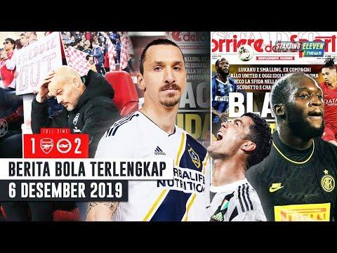 Ibra REMEHKAN Ronaldo 😱 Lukaku & Smalling TAK TERIMA Atas Judul Koran Italia 😠 Arsenal KALAH Lagi