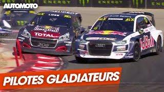 Rallycross : pilotes gladiateurs, stars, les courses les plus spectaculaires du moment