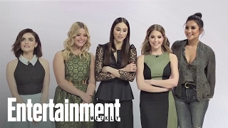 The 'Pretty Little Liars' Cast Compiles A Rosewood Survival Kit | Entertainment Weekly