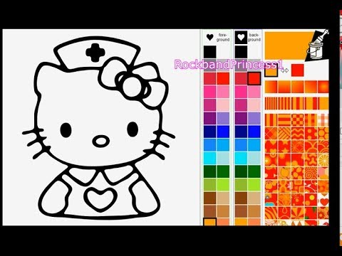 - Coloring For Kids Online - Hello Kitty Coloring Pages - Free Online Coloring  Pages For Kids - YouTube