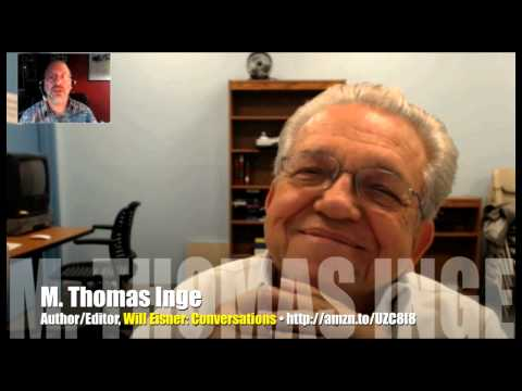 Tom Inge collects decades of Will Eisner interviews! INTERVIEW