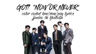 GOT7 NOW OR NEVER